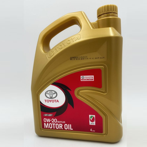 Toyota Fully Synthetic Engine Oil 0W-20 (4 Litre)