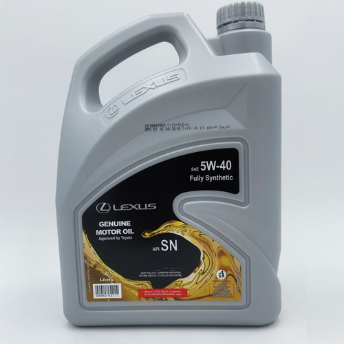 Toyota Fully Synthetic Engine Oil 5W-40 (4 Litre)