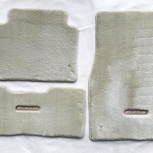 Lexus LS460 Floor Carpet (Ivory)